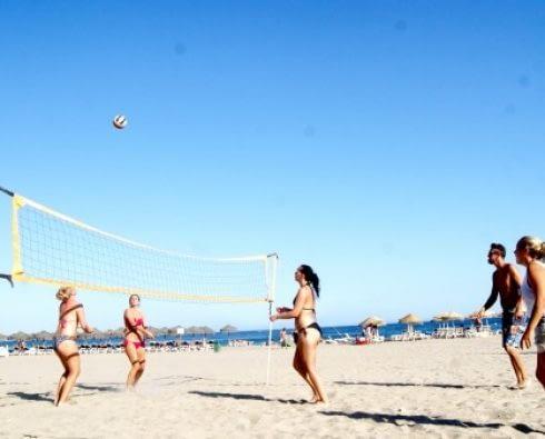 Beach Volley, Strandlekar & Poolpartyn