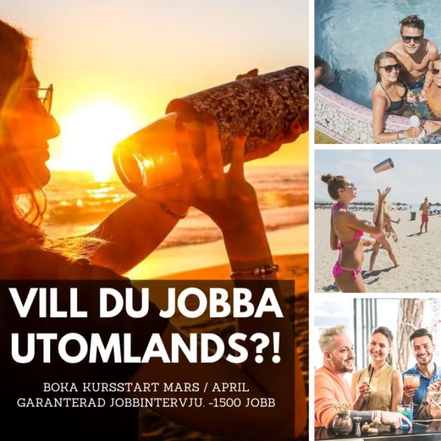 Vill du jobba utomlands i sommar?
